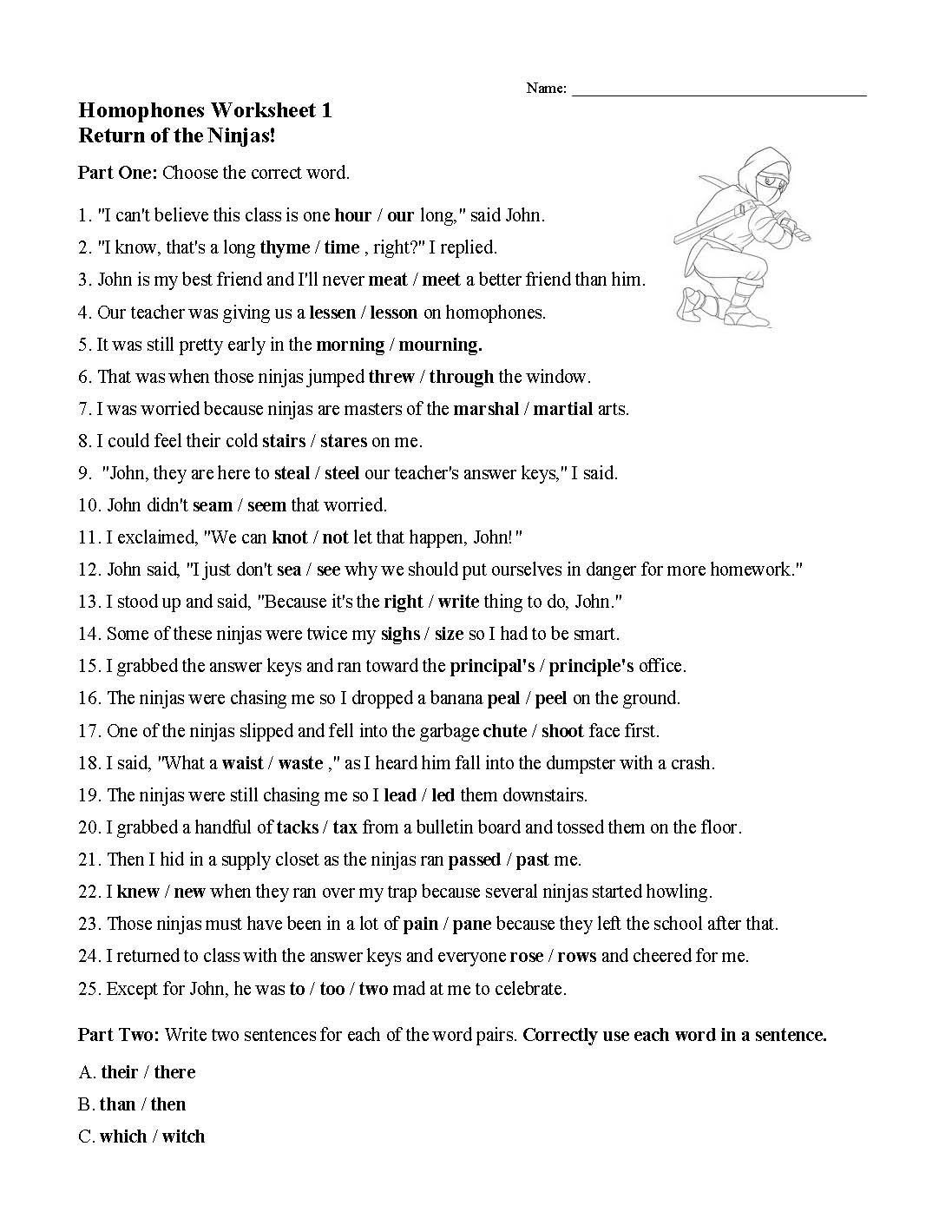 Homograph Worksheets 5th Grade Simile Matching Worksheet