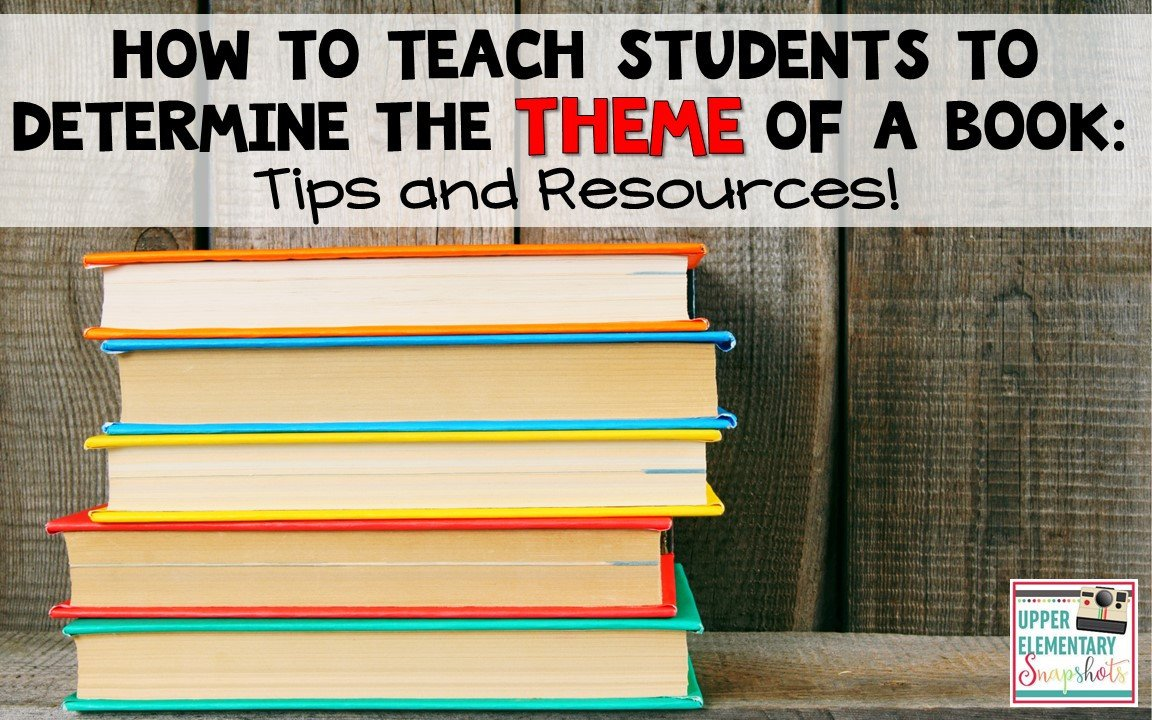 Identifying theme In Literature Worksheets Teaching About themes In Literature