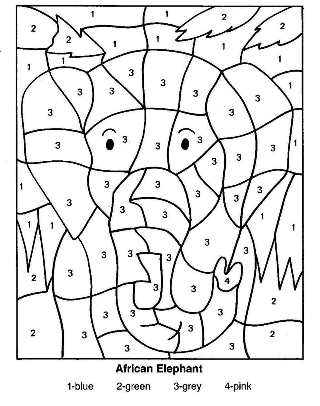 Kindergarten Color by Number Worksheets Worksheet Worksheet Free Color by Number Worksheets Math