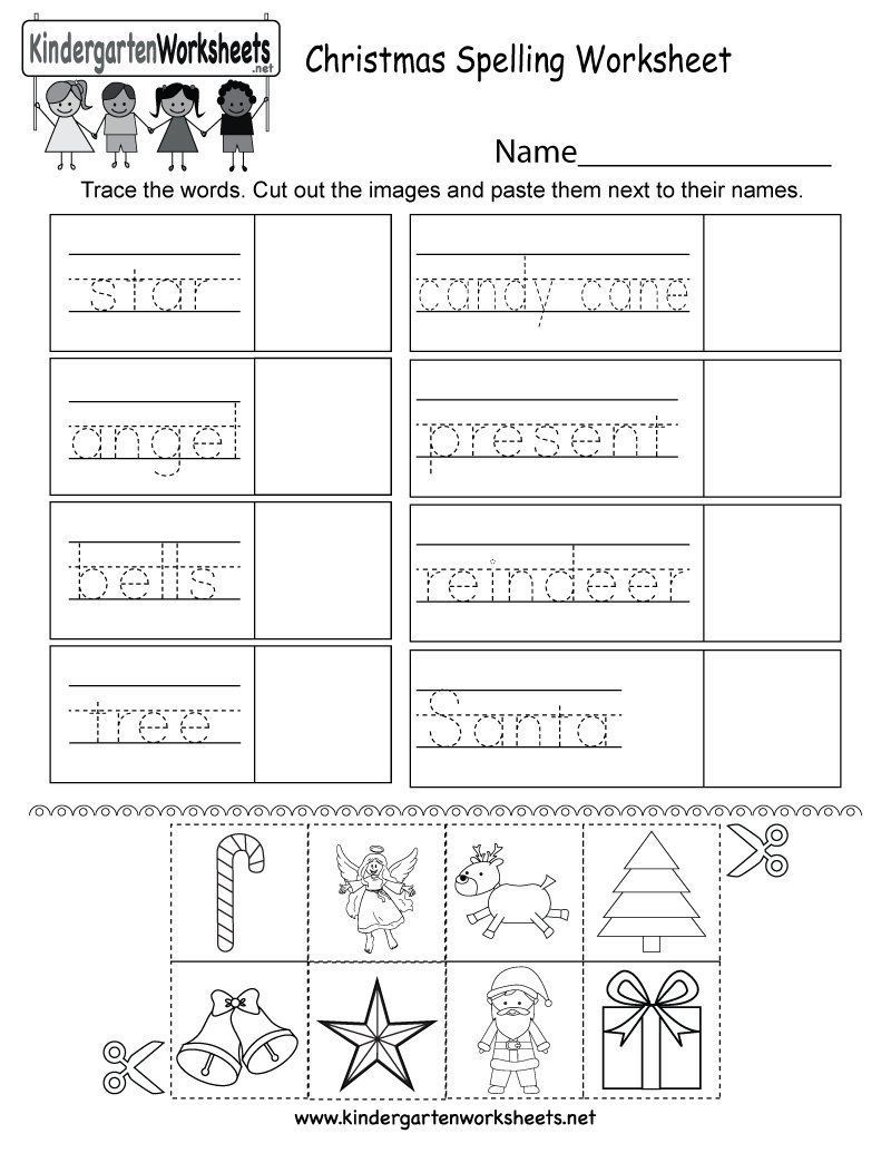 "Kindergarten Spelling Worksheets Kindergarten Wsheets On Twitter ""this Free Christmas"