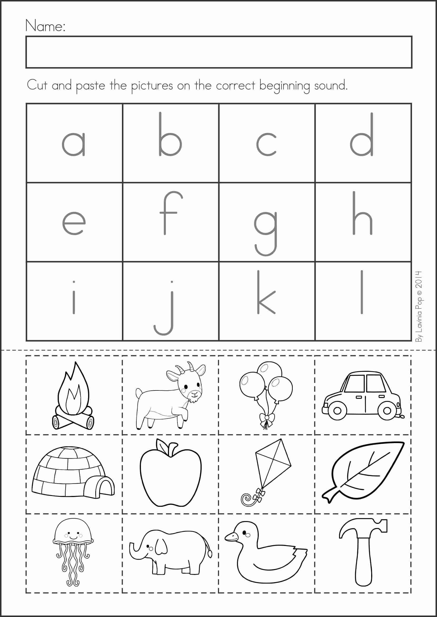 Kindergarten Worksheets Cut and Paste Pin by Joe Hafzar On Educational