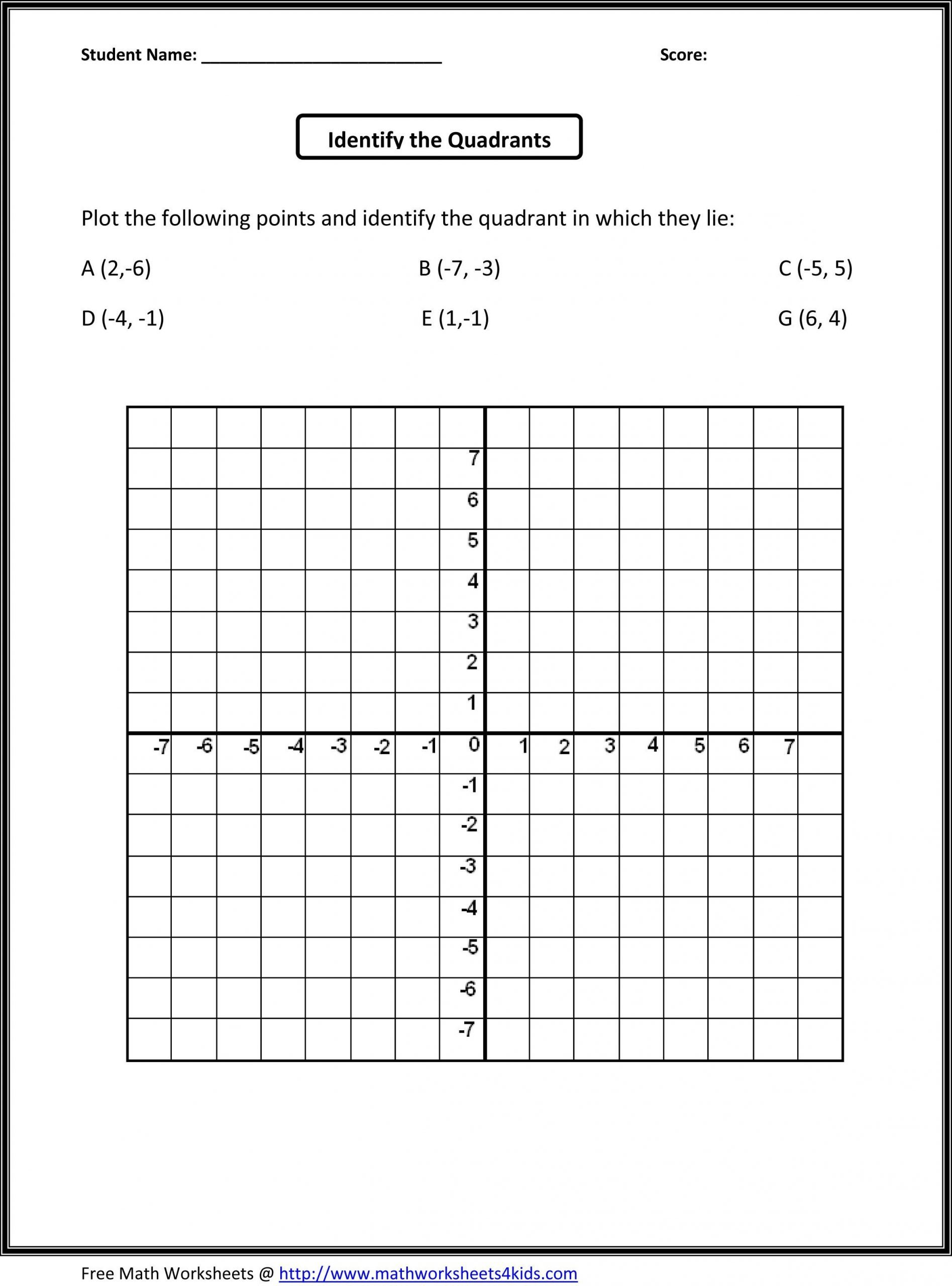 grade 5 graphing worksheets free
