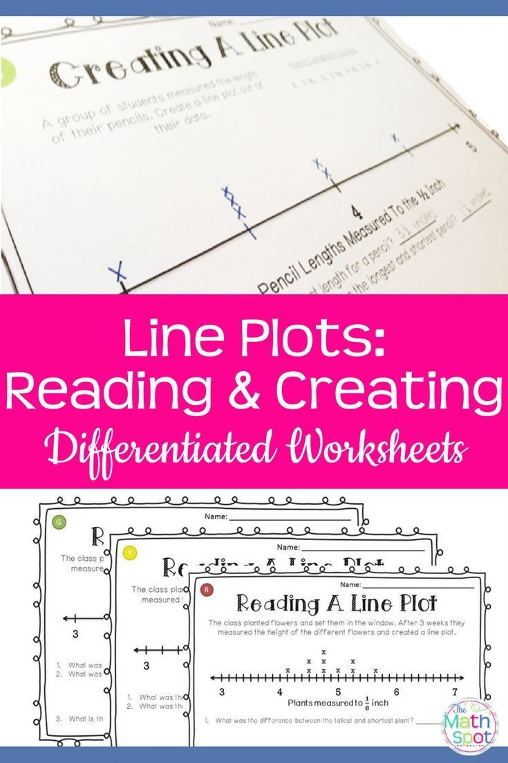Line Plot Worksheet 5th Grade Line Plots Worksheets Ideal for Distance Learning