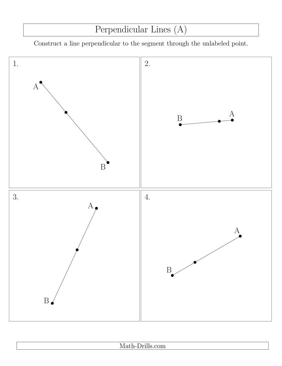 constructions perpendicular line rotated online 001