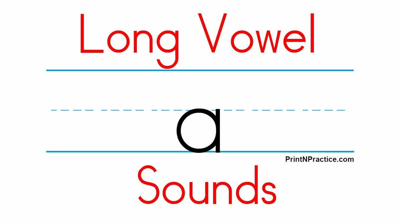 Long Vowel sounds Worksheets Use 5 Long Vowel sounds Aeiou Printnpractice Phonics Worksheets