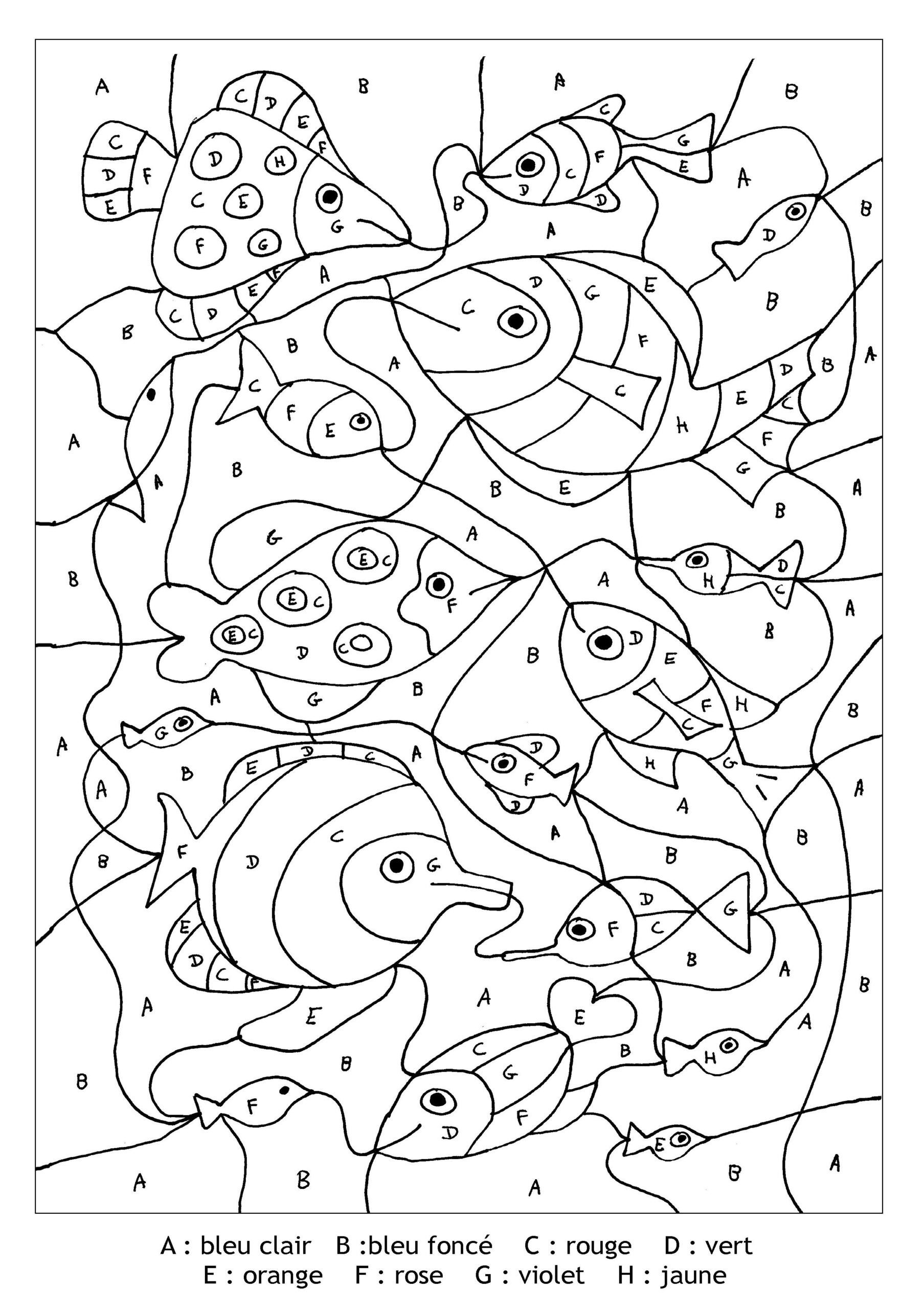 Magic E Worksheets Ks1 Magic for Kids Fishes Free Coloring to From 1er Grade Math