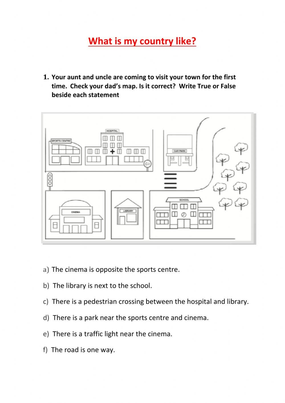 Map Worksheets 2nd Grade 2nd Grade sociales Unit 6 2 Interactive Worksheet