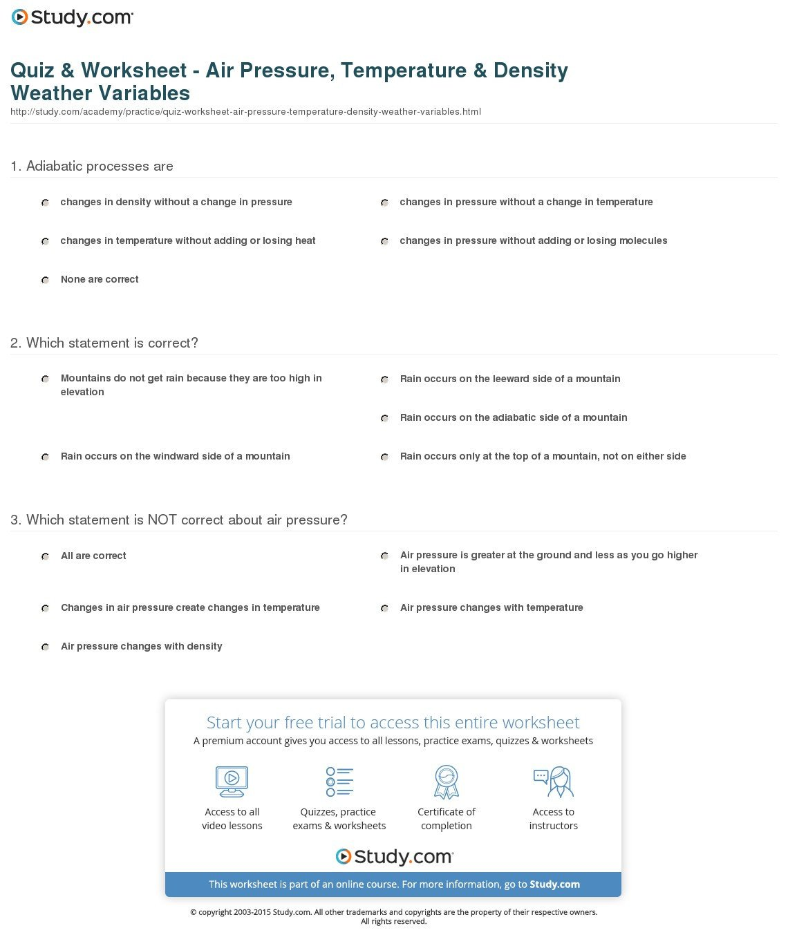 Measurement Temperature Worksheets Temperature Reading Worksheets