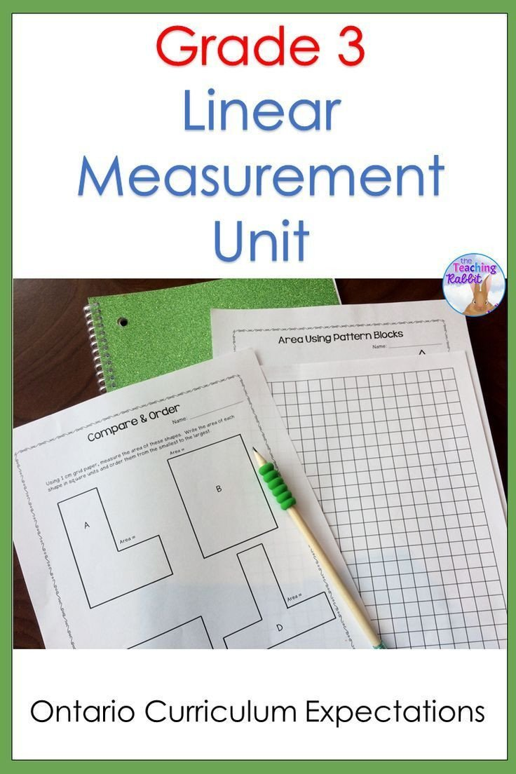 Measurement Worksheets for 3rd Grade This Linear Measurement Unit for 3rd Grade Contains Lesson
