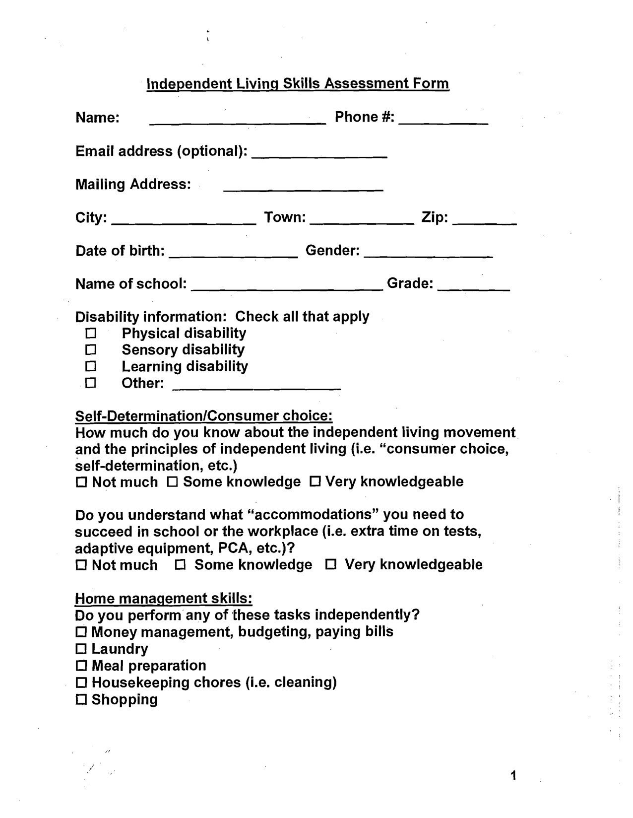Middle School Health Worksheets Pdf 20 Free Independent Living Skills Worksheets