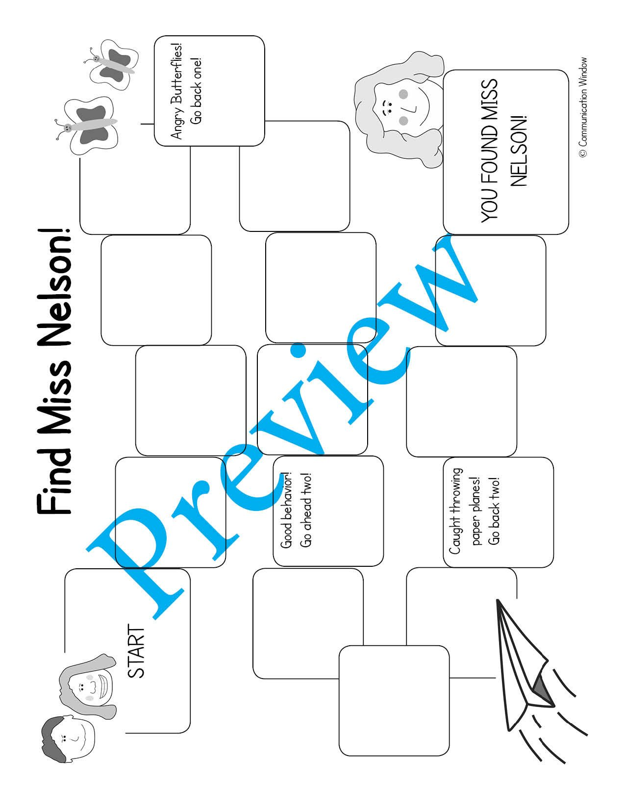 miss nelson game board preview watermark