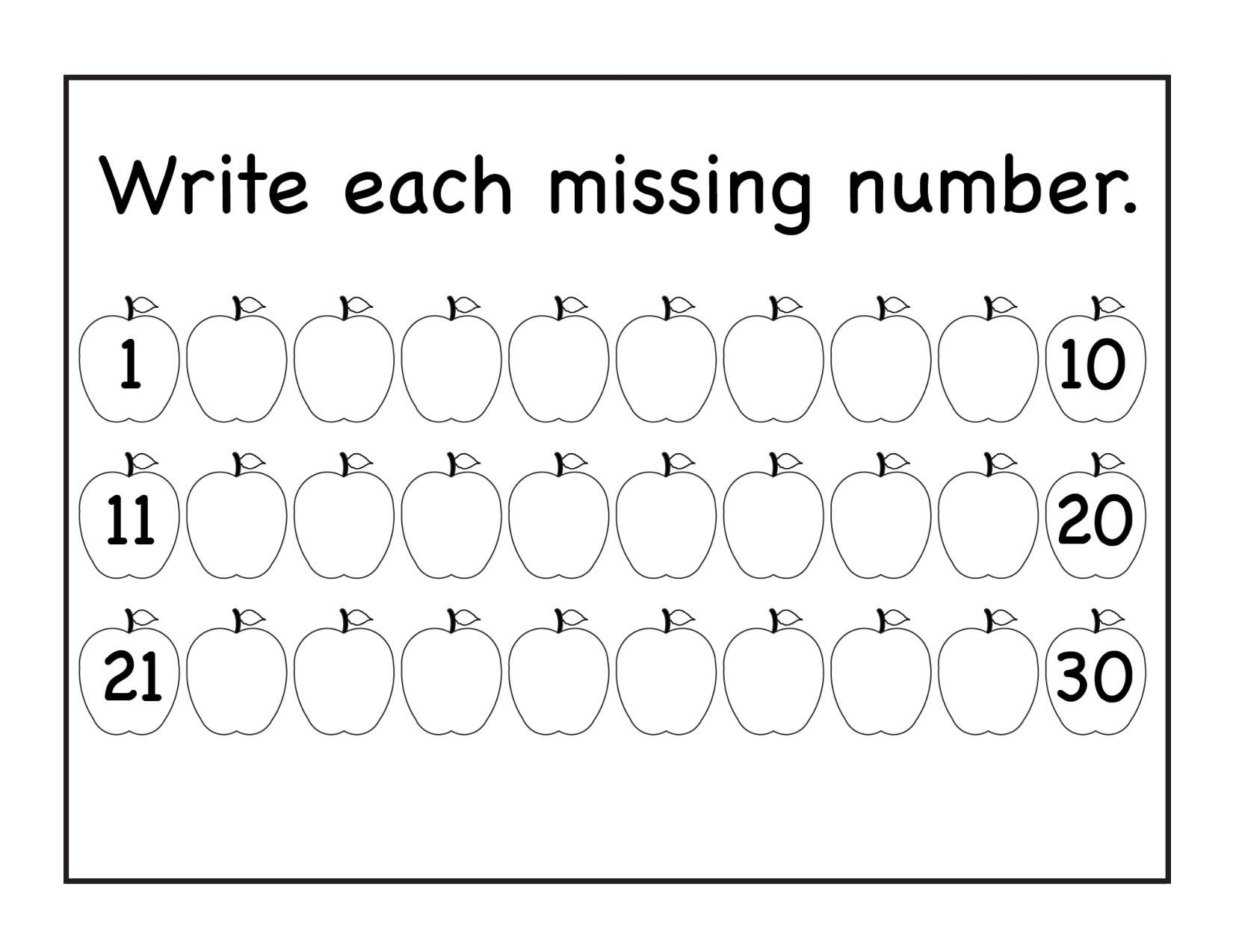 missingnumbers fruits 1to30 1 page 001