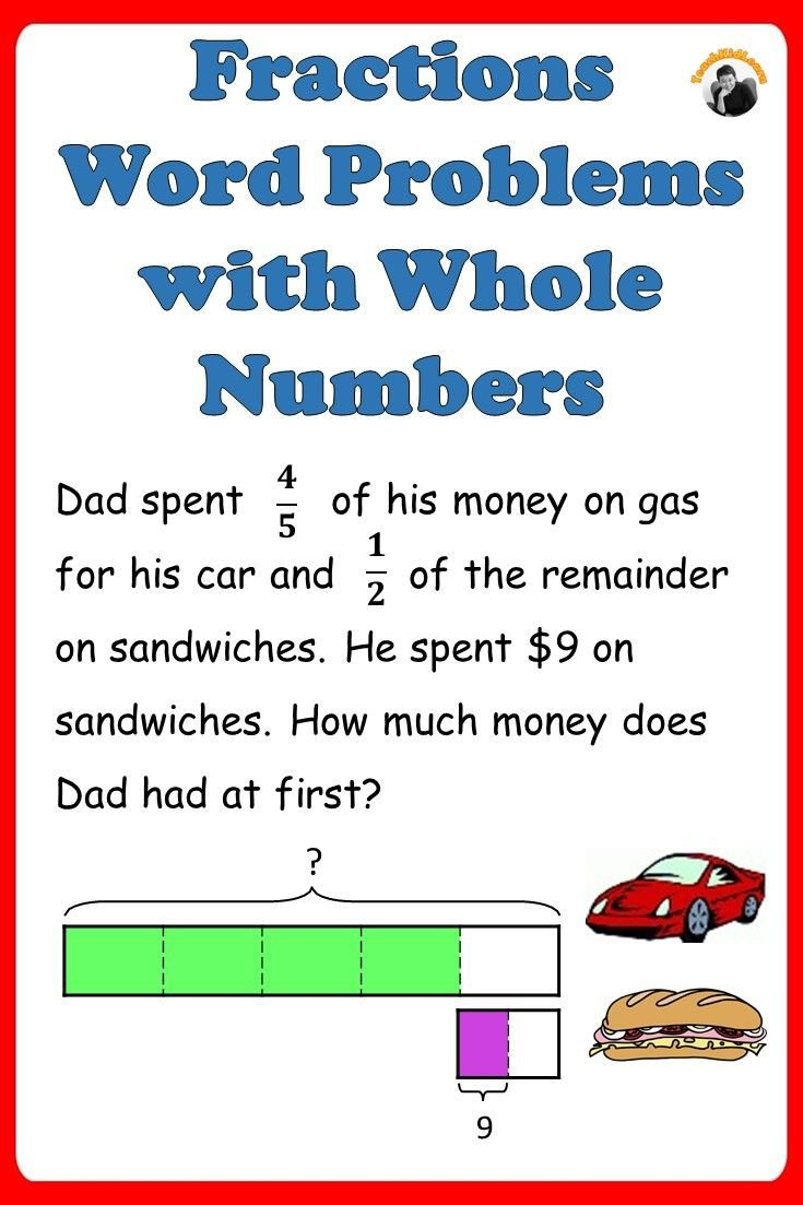 Multiple Step Word Problem Worksheets Fractions Worksheets 4th 5th Grade