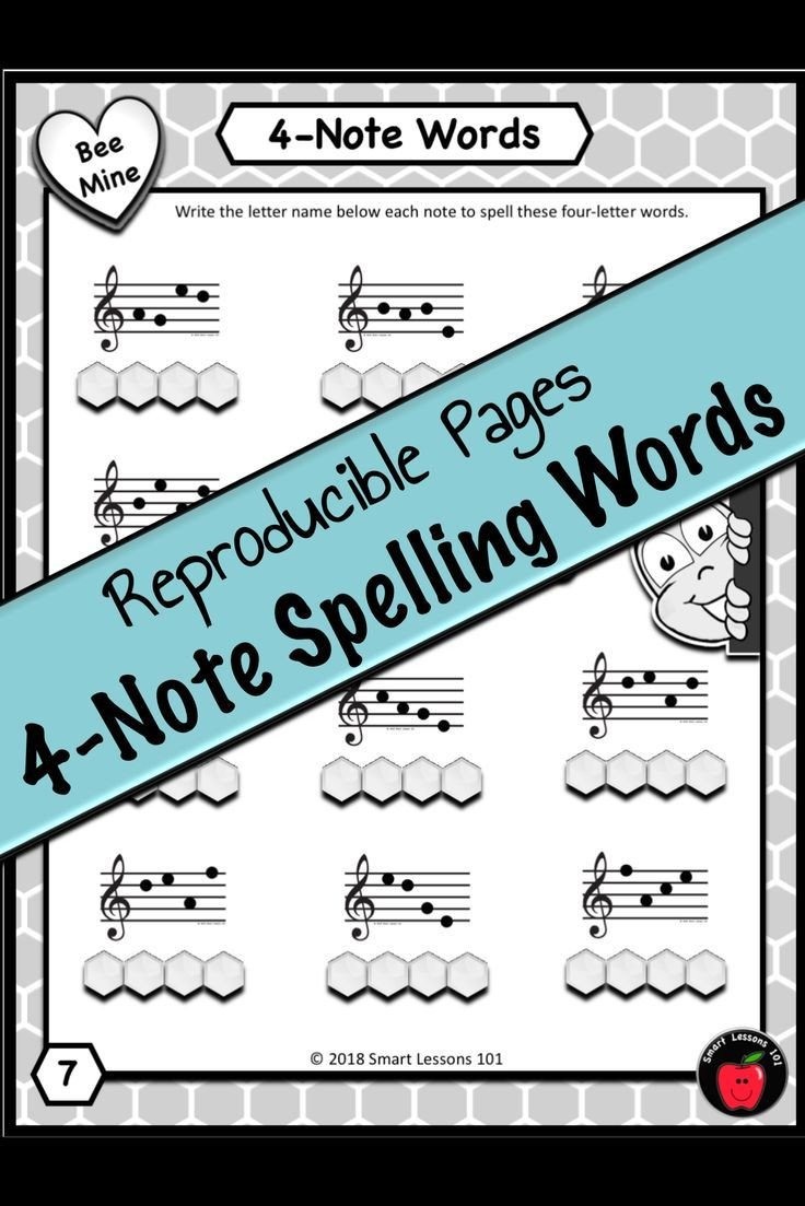 Note Speller Worksheets Valentines Day Music Bundle Note Name Music Worksheets