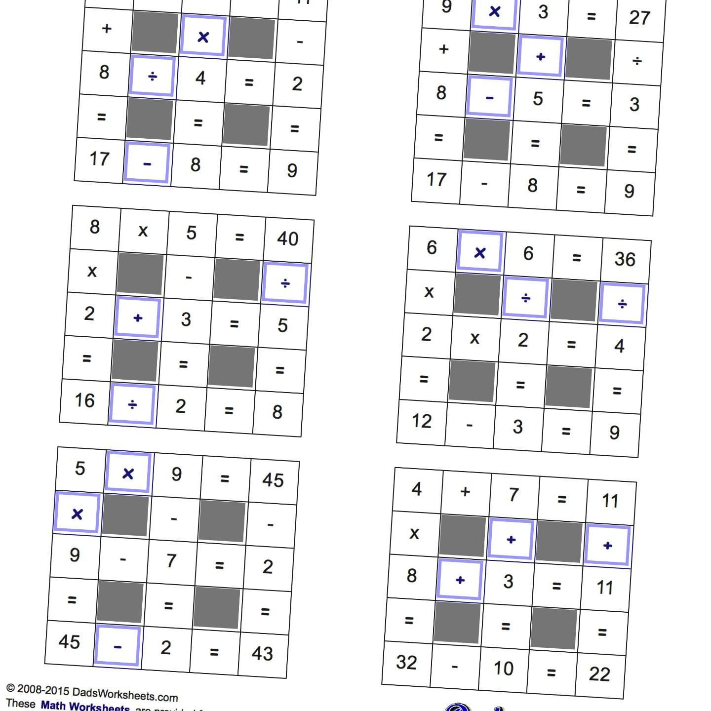 Number Grid Puzzles Worksheets Maths Grid Puzzles