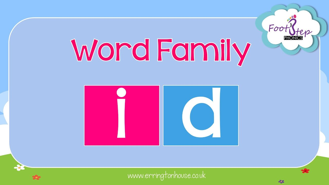 Ob Word Family Worksheets Footstep Phonics Id Word Family