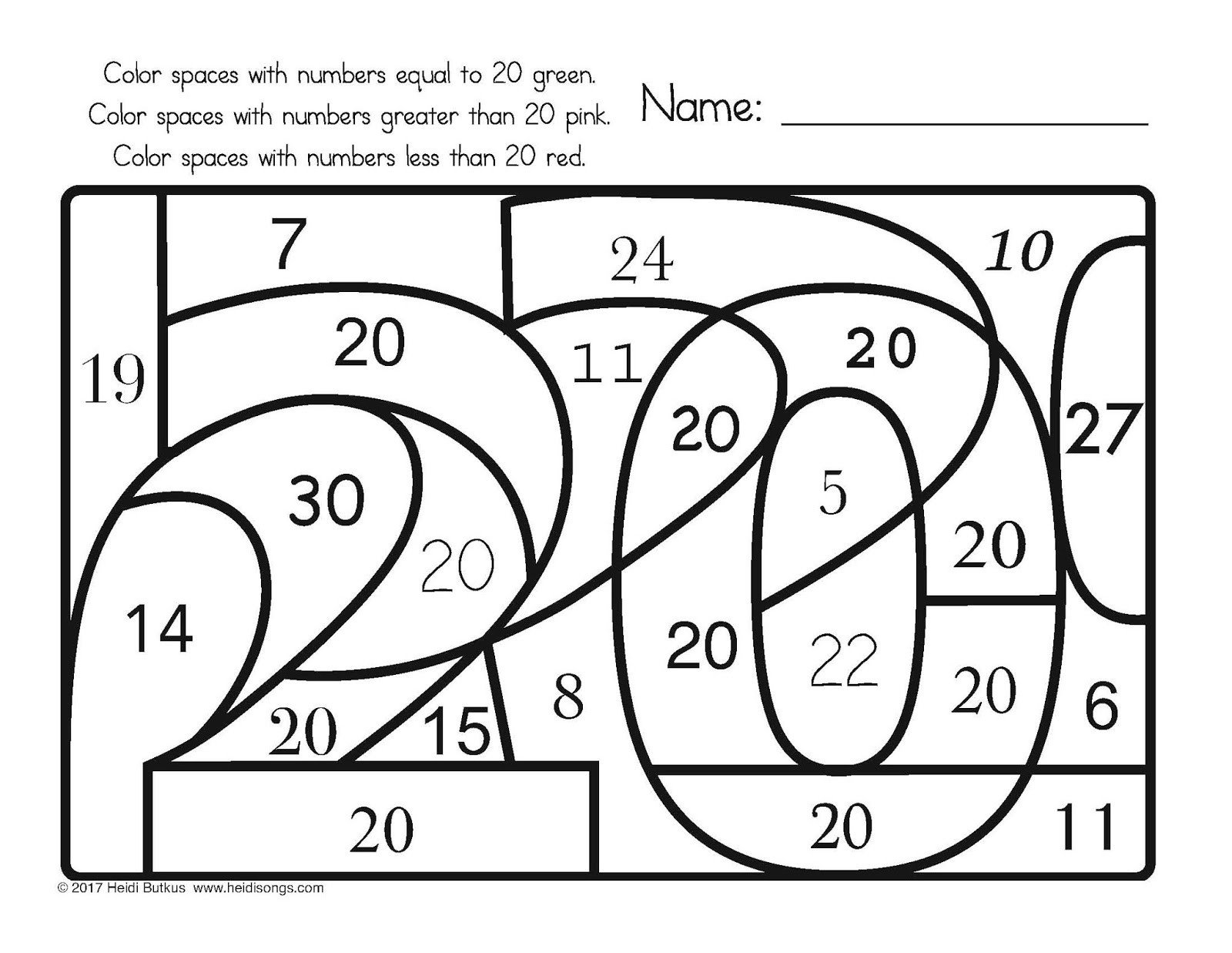 Opposites Preschool Worksheets Find the Number Worksheets Opposites Preschool From