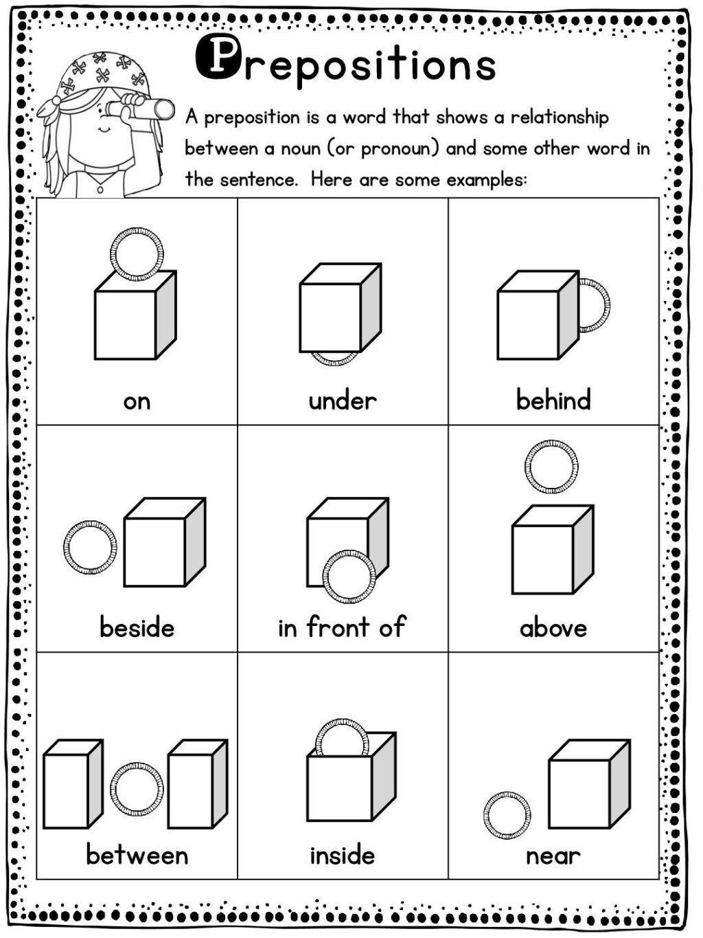 vocabulary set 1 english worksheets for kids english lessons