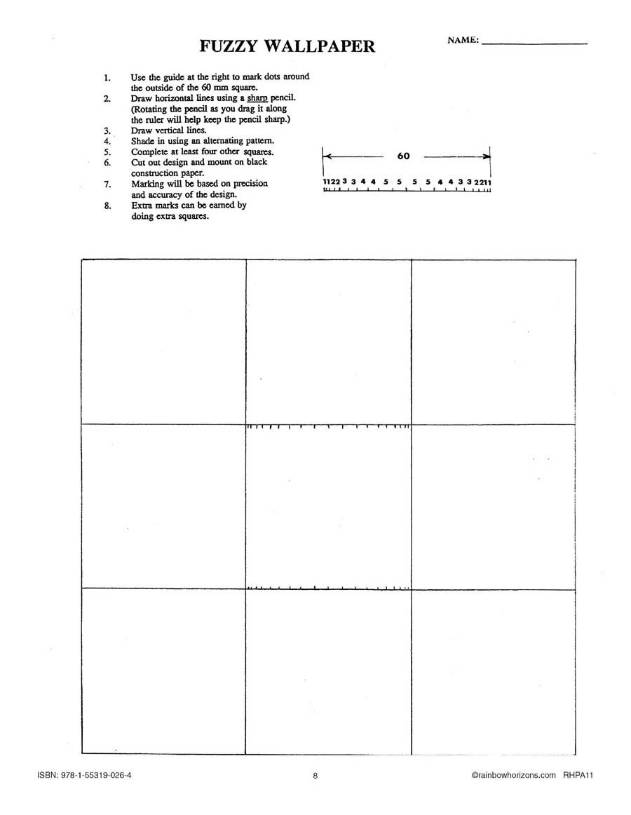 Optical Illusion Worksheets Optical Illusions and Loco Logos Fuzzy Wallpaper