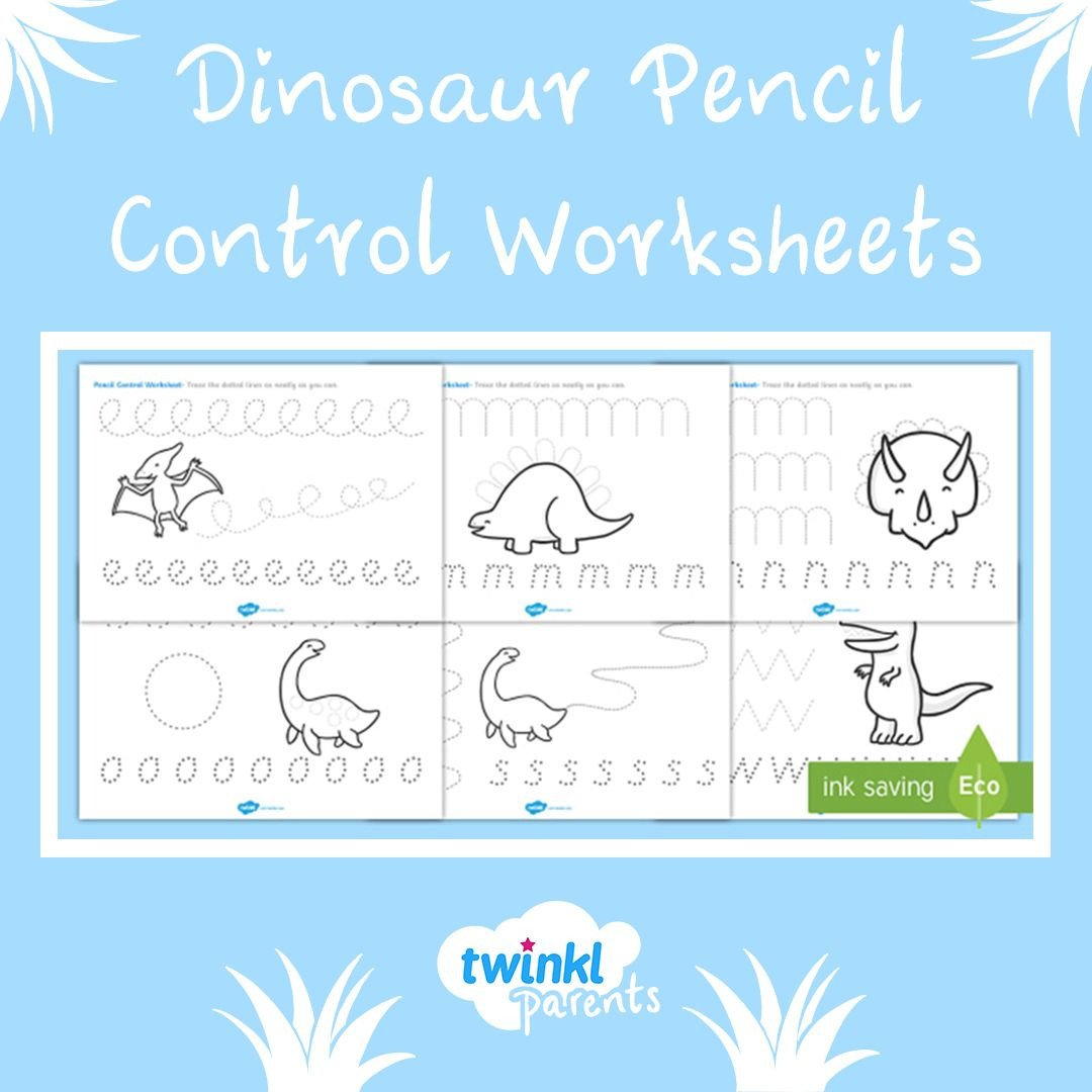 Pen Control Worksheets Pencil Control Worksheet for Preschool