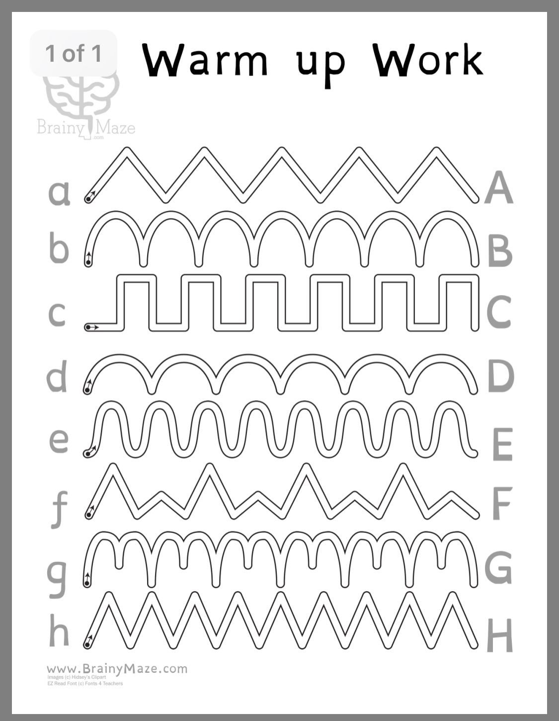 Pen Control Worksheets Pin by Tabetha Wynn On Reading K 3