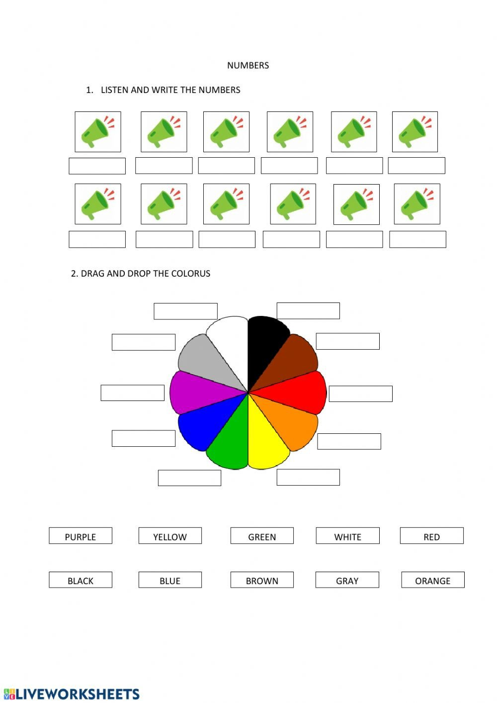 Plot Worksheets 2nd Grade Revision 2nd Grade Interactive Worksheet