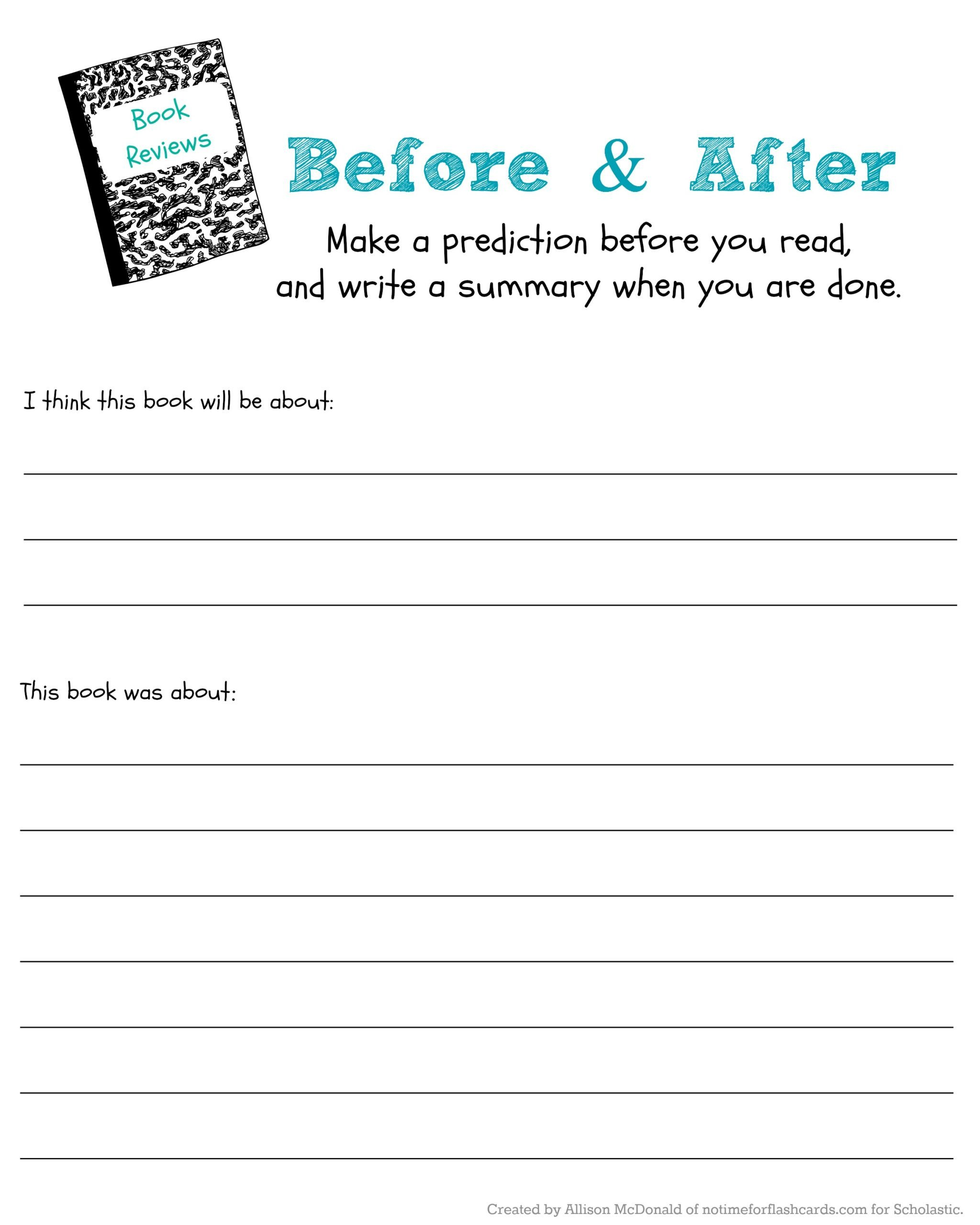 Prediction Worksheets 3rd Grade Judge Book by Its Cover to Predict Read Scholastic Parents