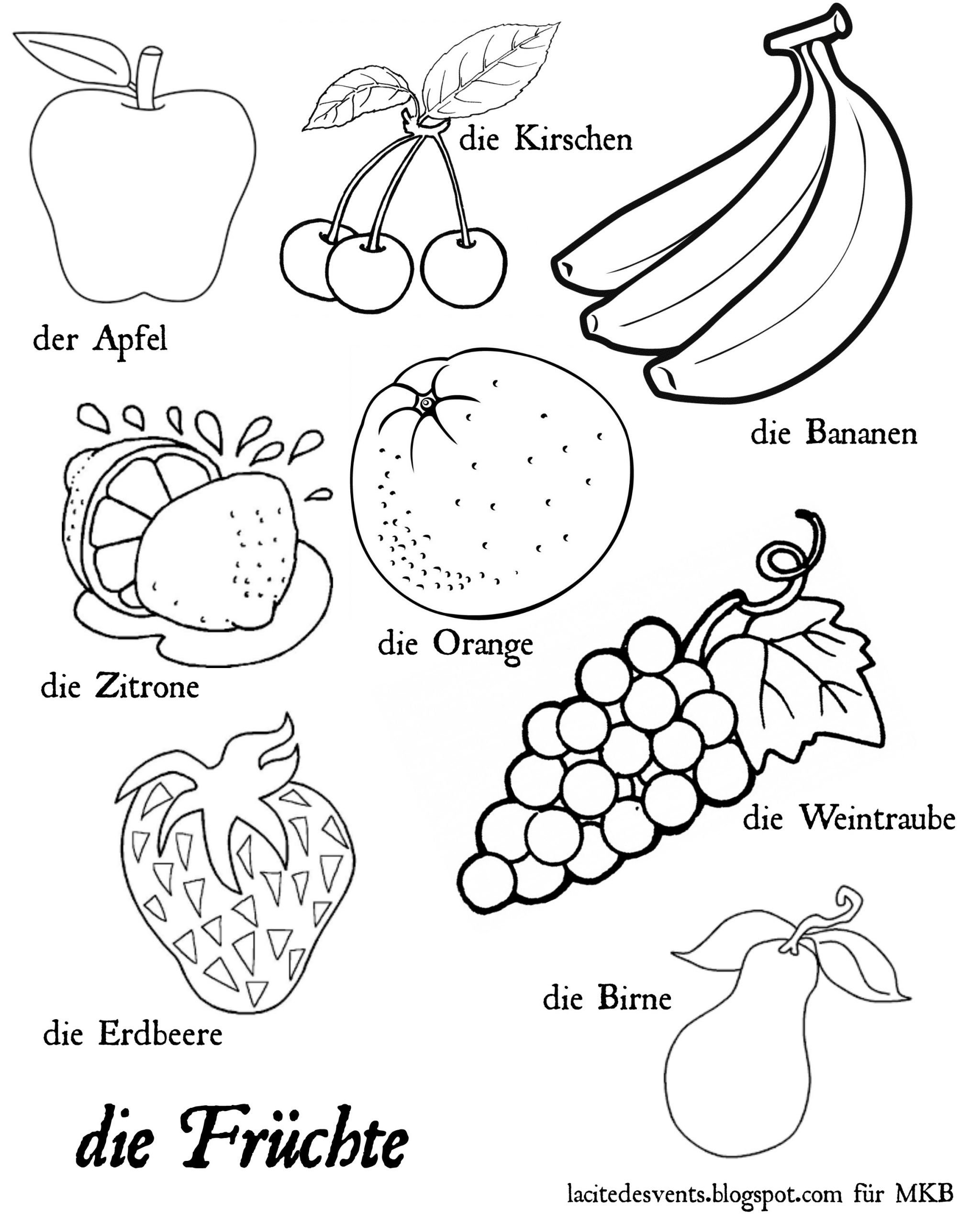 Preschool Fruits and Vegetables Worksheets Coloring Books and Ve Ables Printable Clip Art Pics