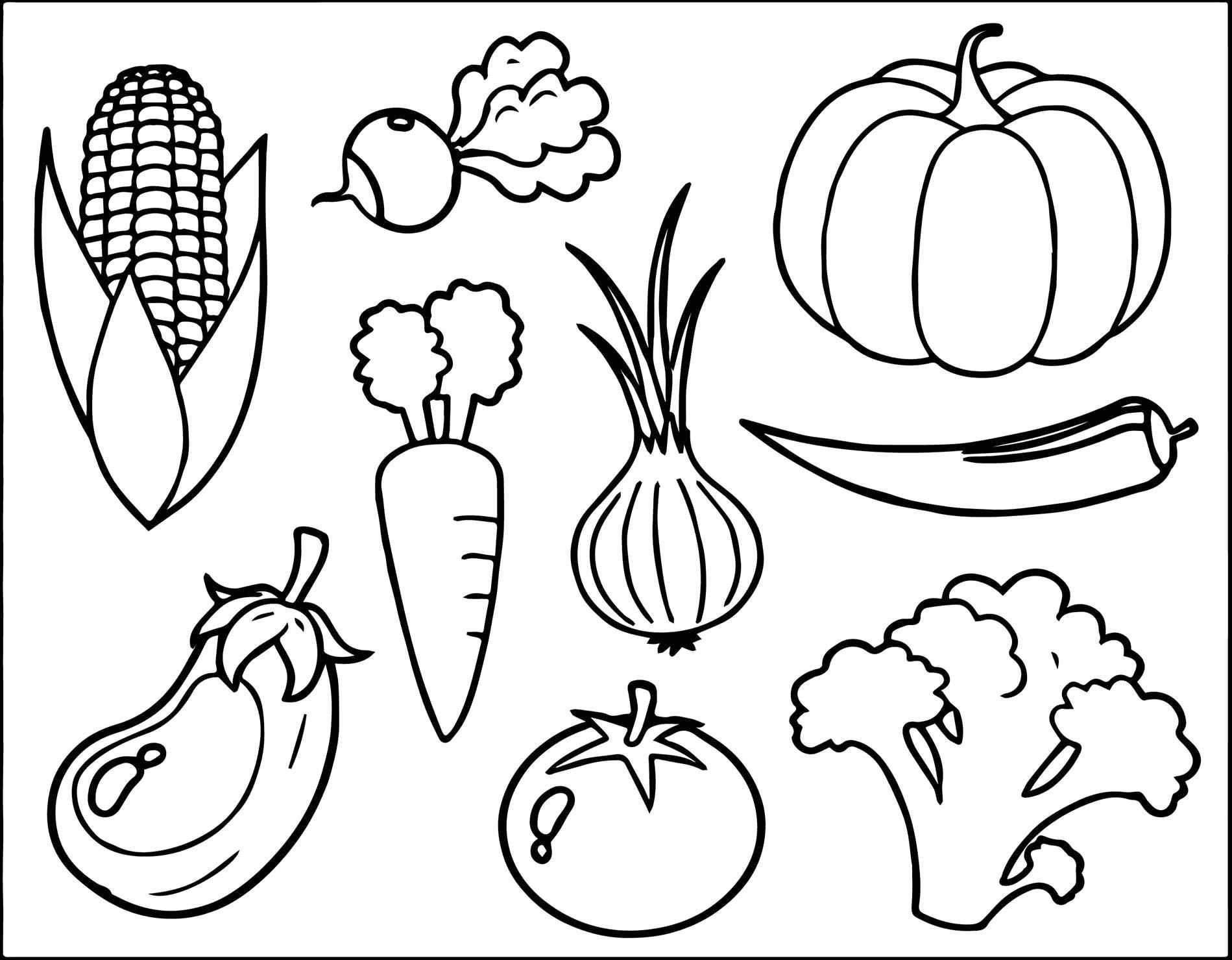 Preschool Fruits and Vegetables Worksheets Fruits and Ve Able Coloring Books Pdf for Kids with