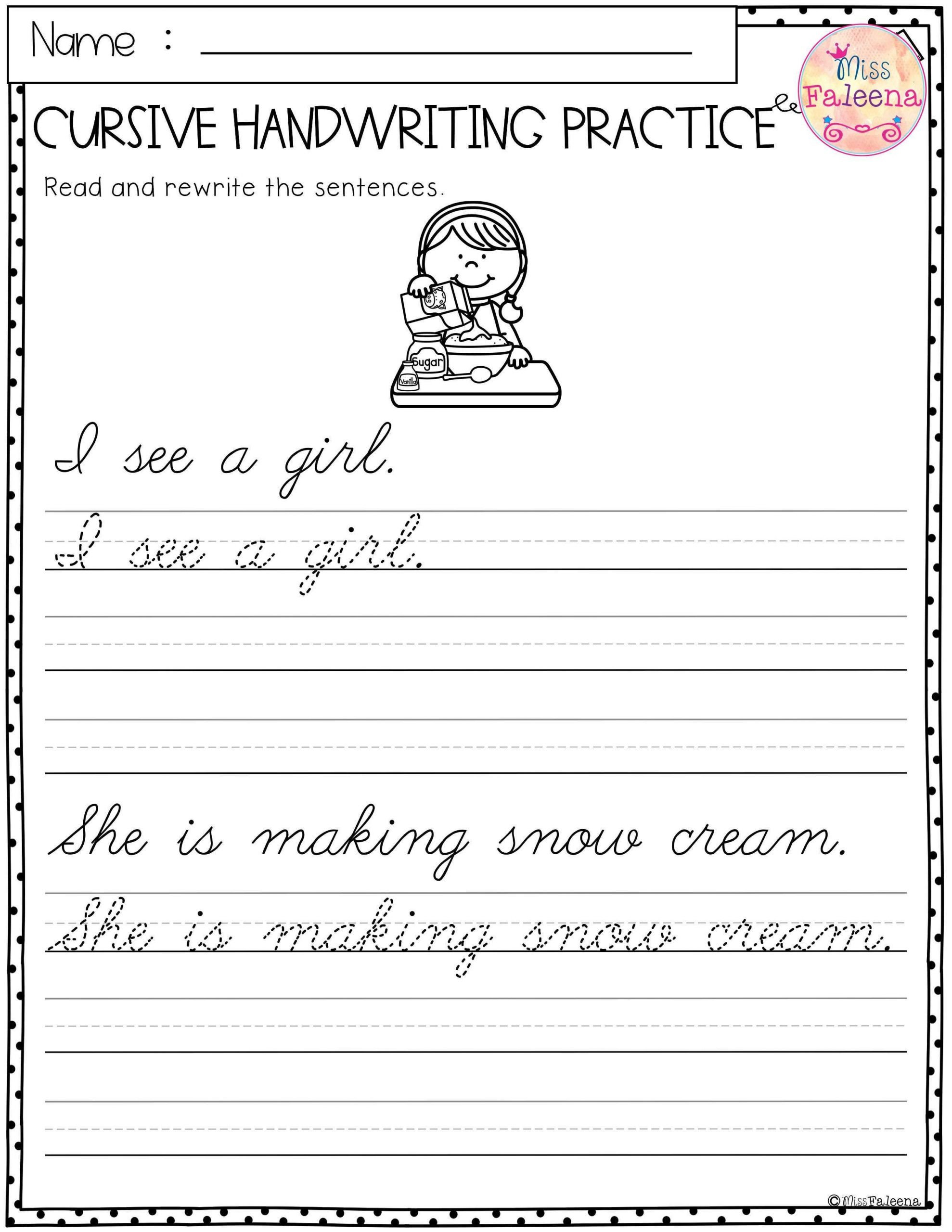 excelent cursive practice sentences photo ideas coloring book pdf printable scaled