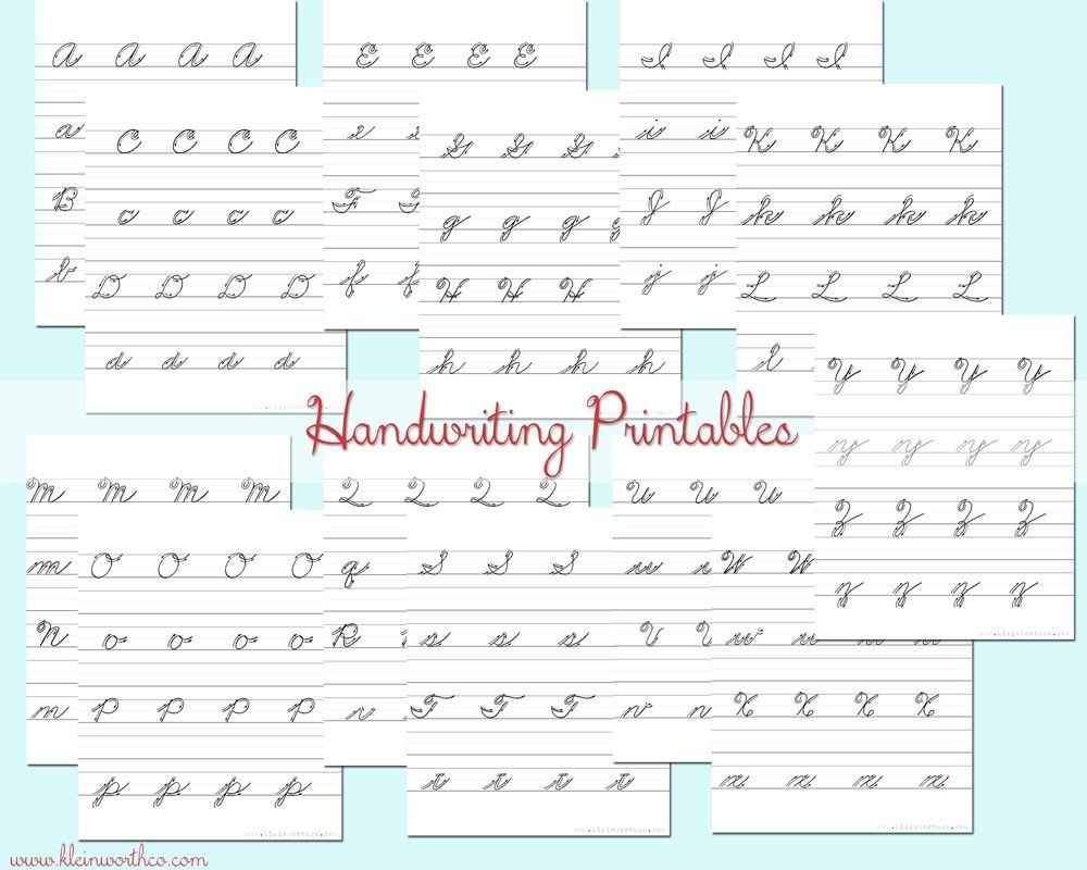 free practice sheet for cursive writing pdf worksheets