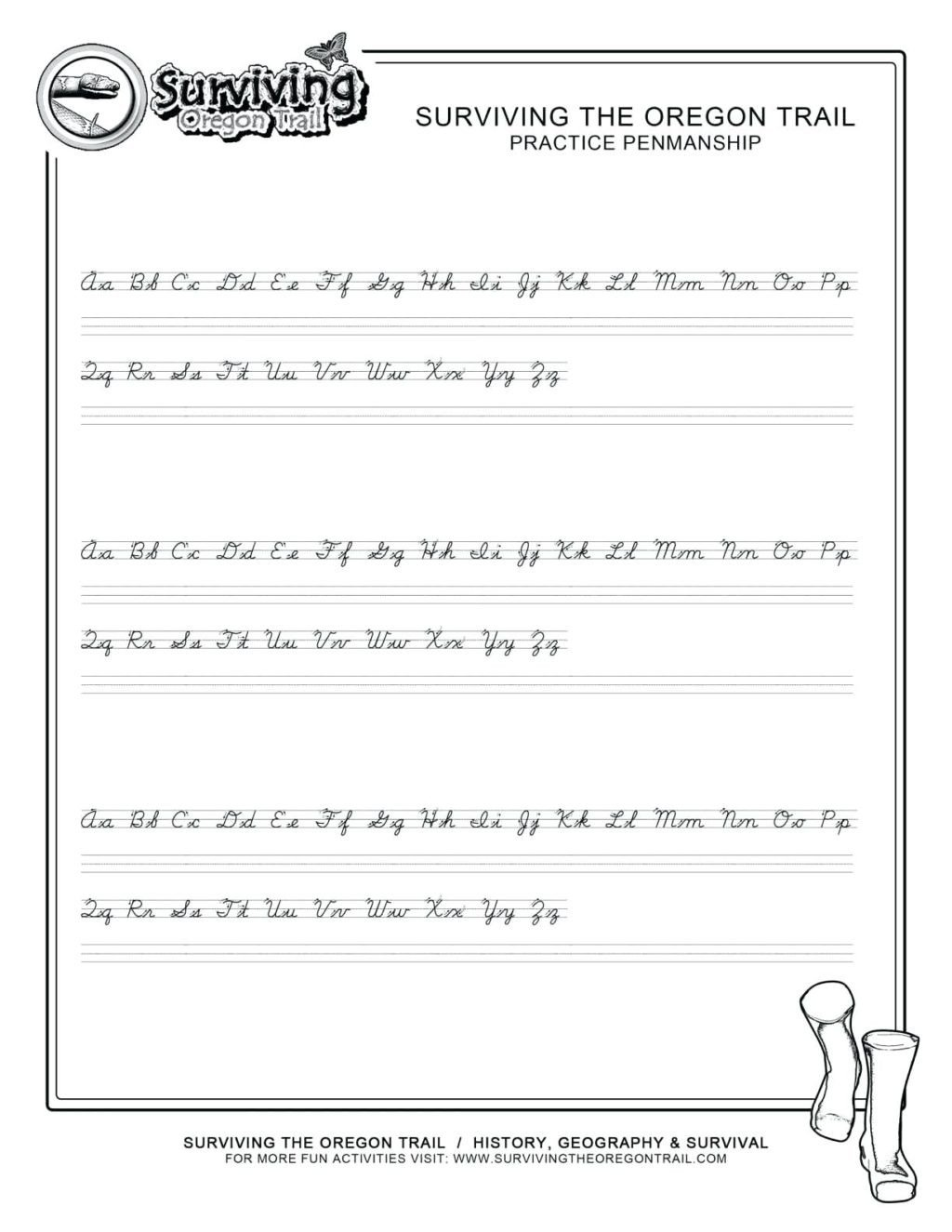 free create cursive handwriting worksheets printable pdf for 4th 1024x1325