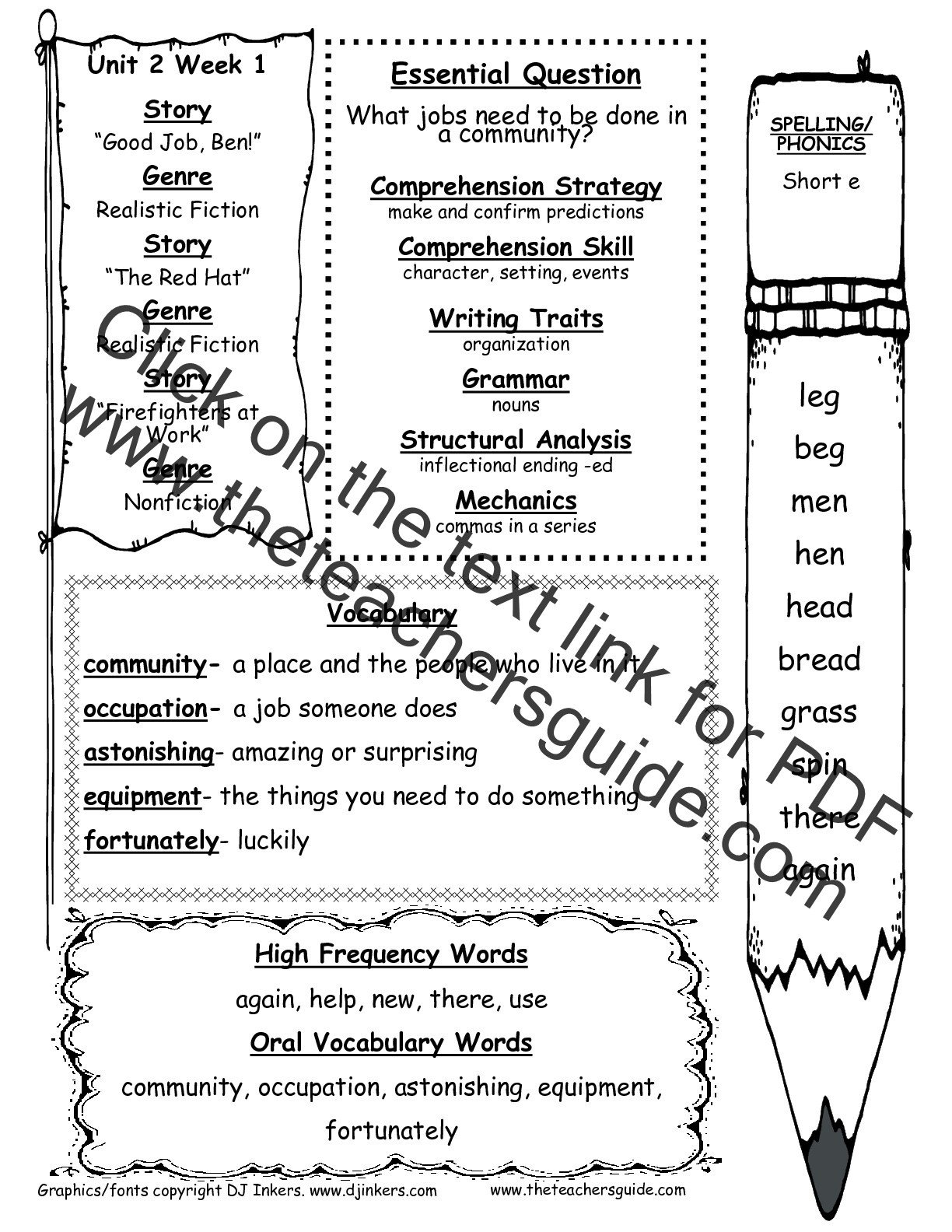 Printable First Grade Reading Worksheets Unittwoweekonettg Coloring Book Free Reading Activities for
