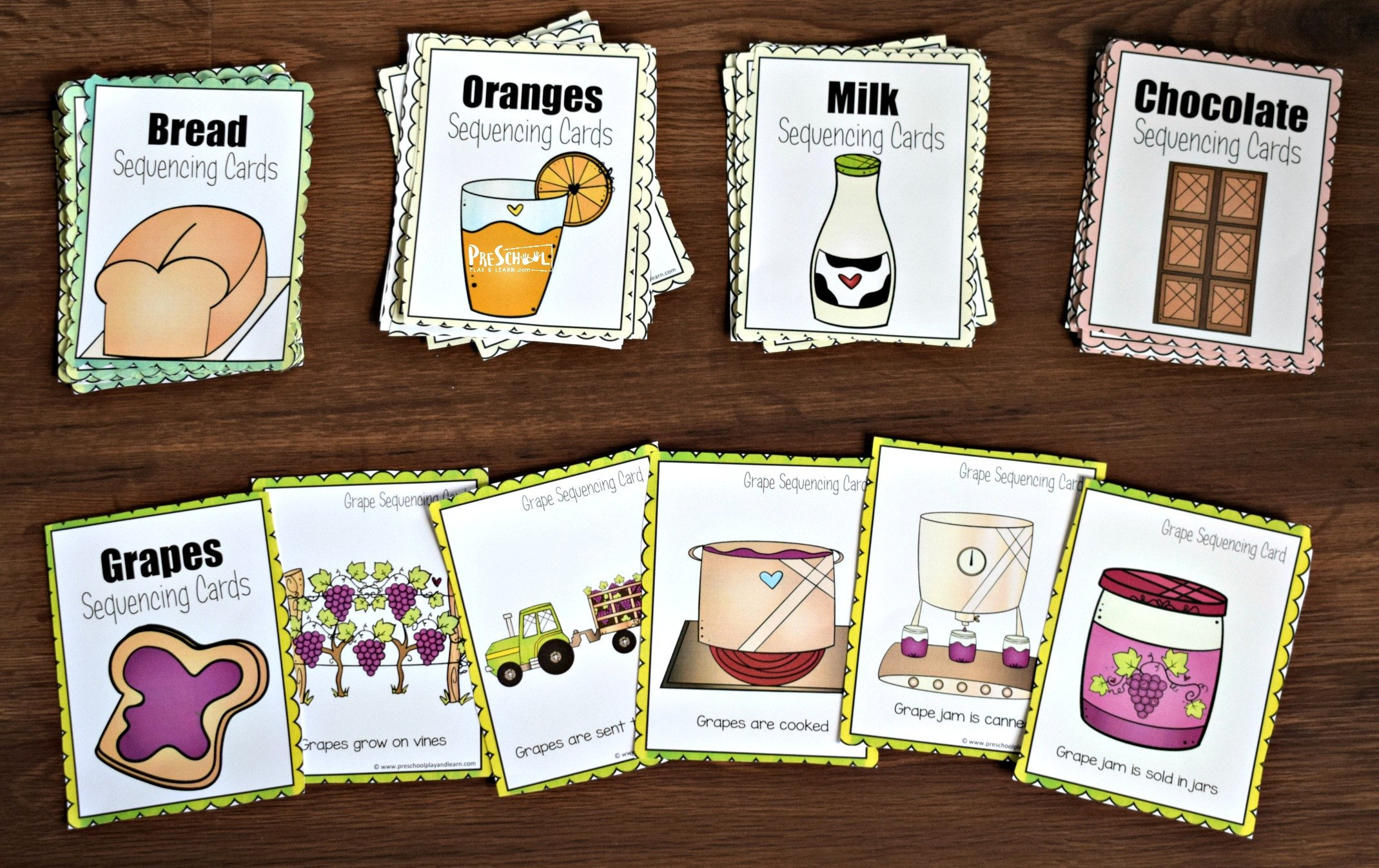 Printable Sequencing Worksheets Free Farm Sequencing Cards