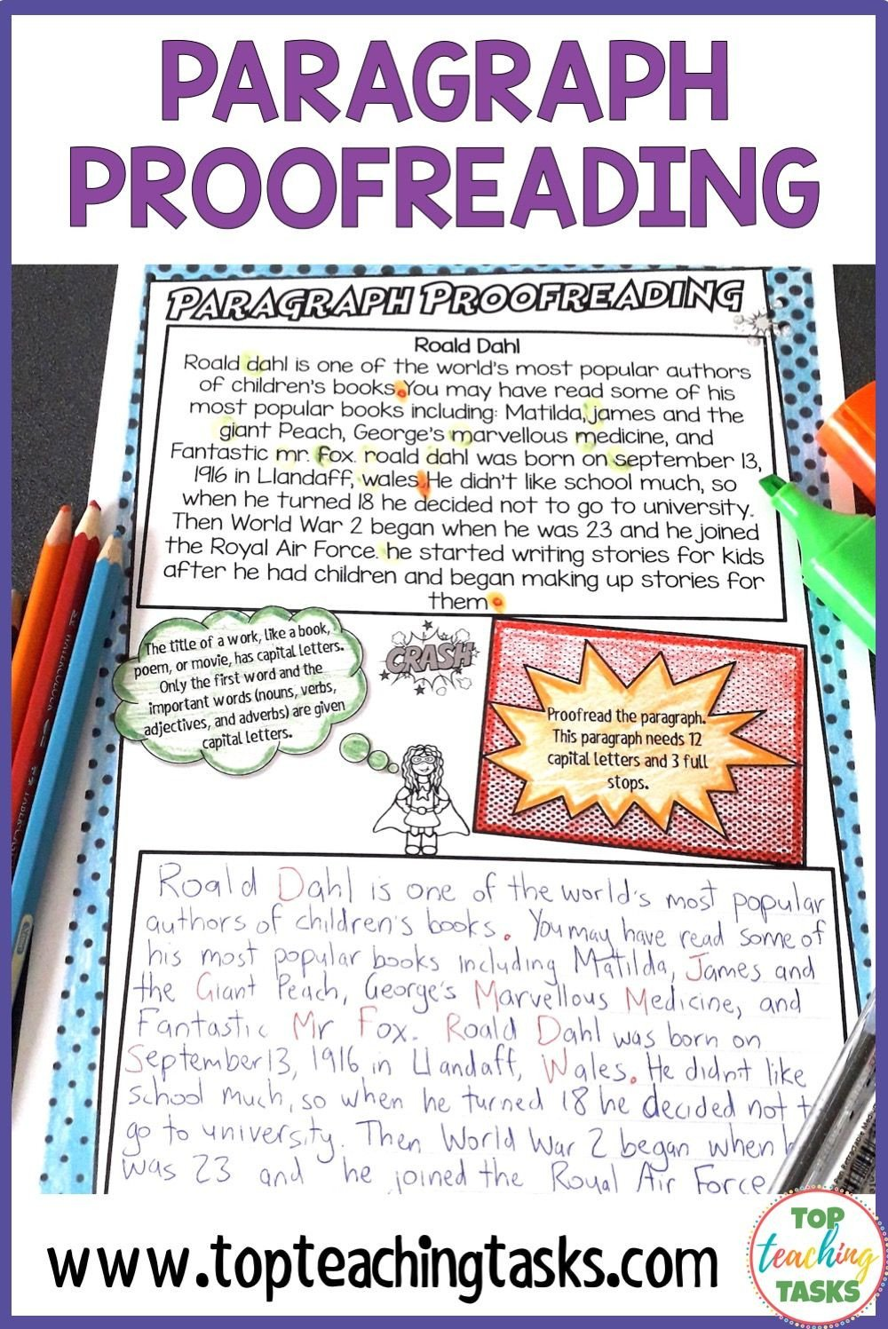 Proofreading Worksheets 3rd Grade Punctuation Proofreading Practice Activities