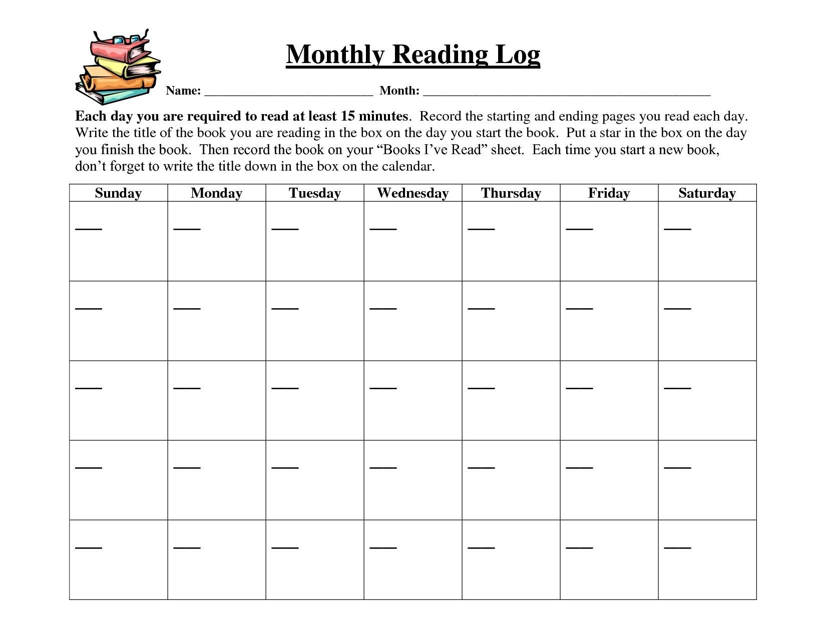 Reading A Calendar Worksheets Reading Calendar Log Free Calendar 2017 2018
