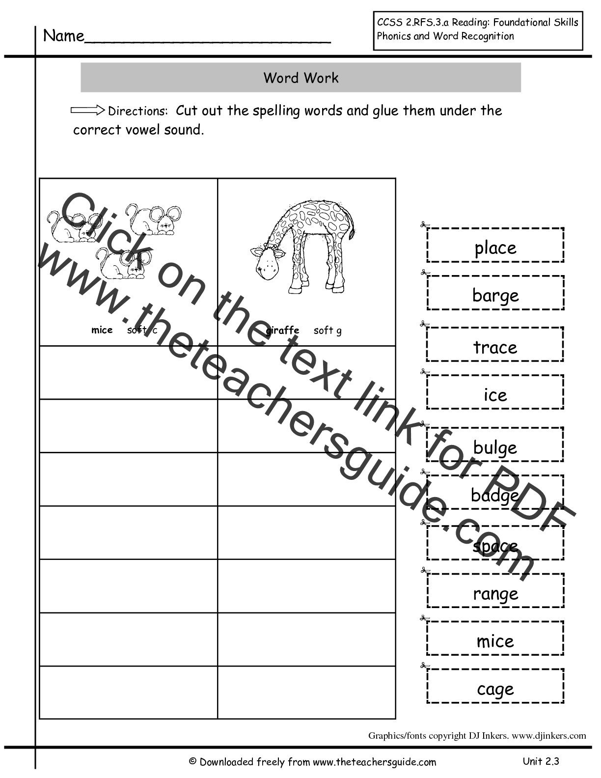 Root Words Worksheet 2nd Grade Wonders Second Grade Unit Two Week Three Printouts
