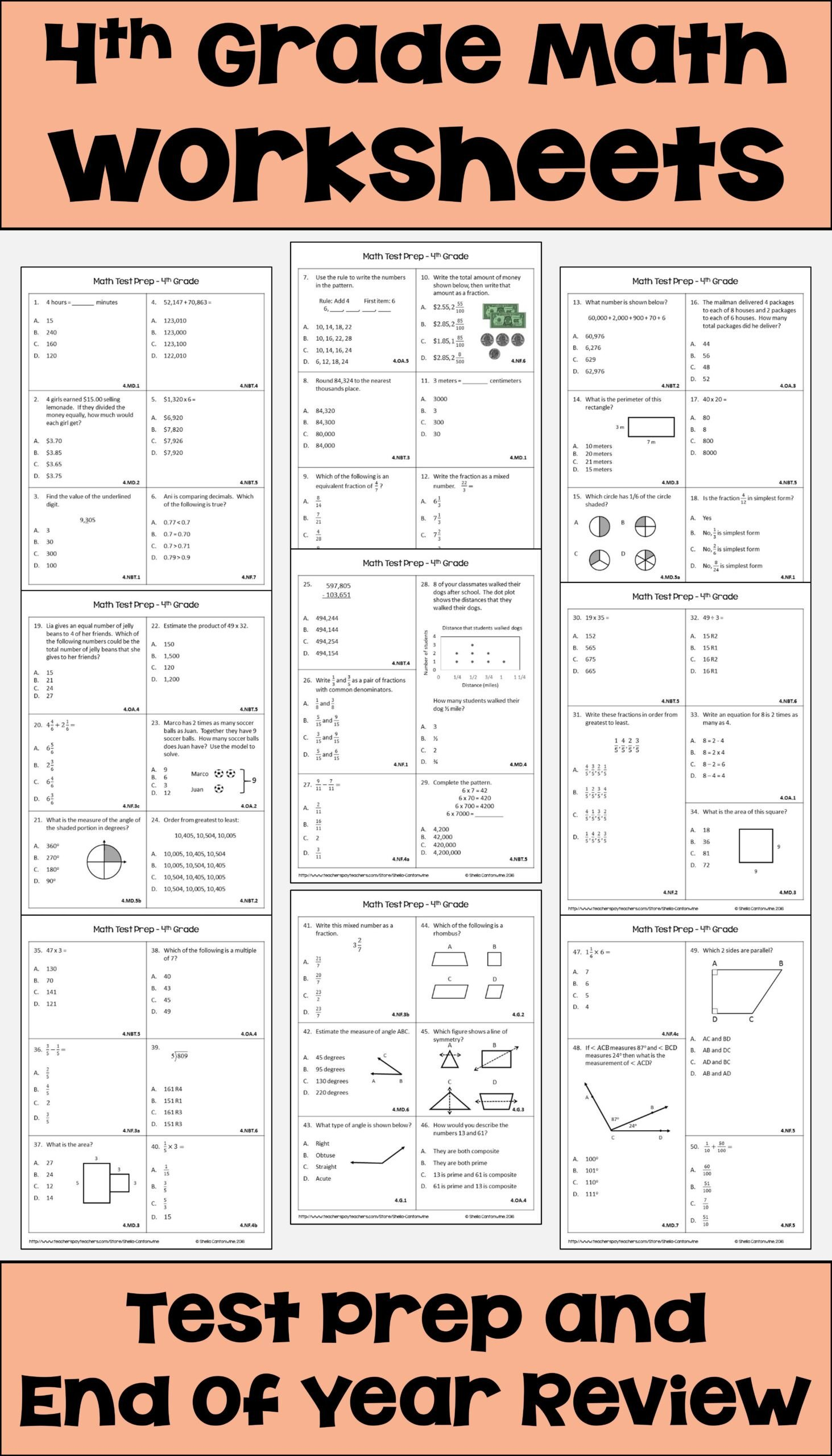 pin on differentiated math 4th grade prep worksheets good problems for 5th graders