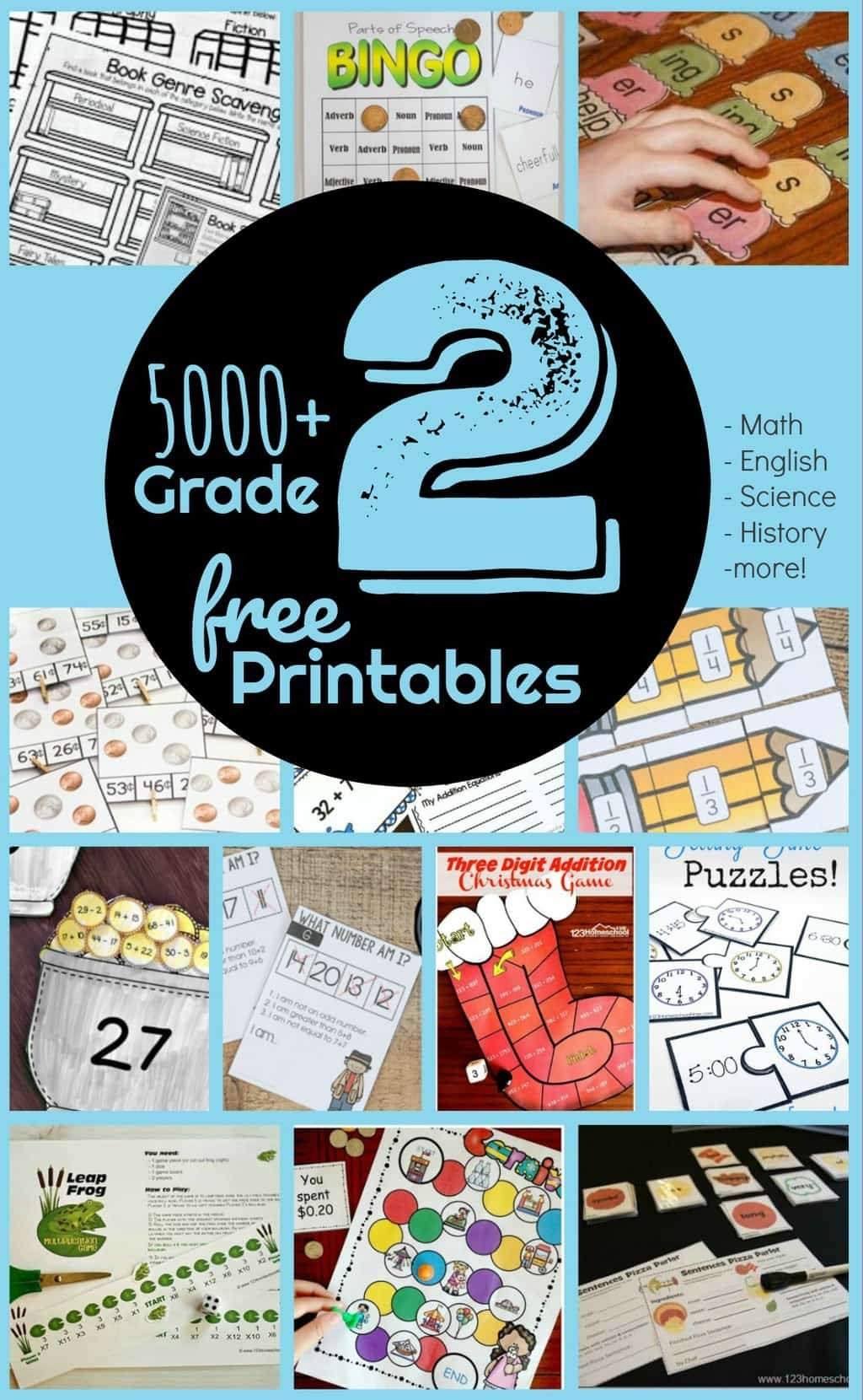 Second Grade Science Worksheets Free Free 2nd Grade Worksheets