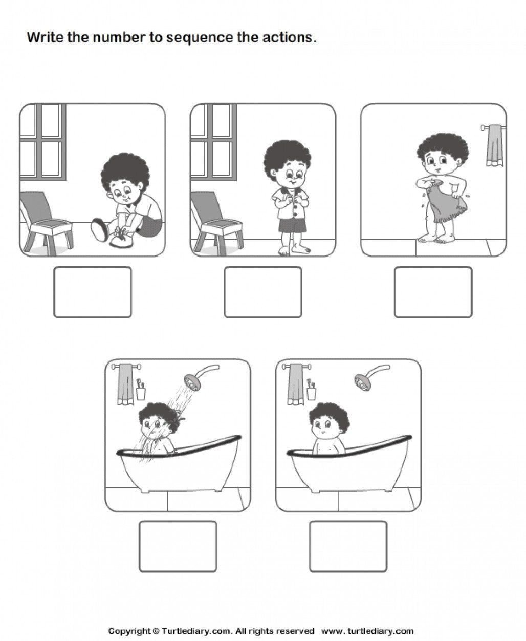 Sequence Worksheets for Kindergarten Story Sequencing Worksheets for Kindergarten New Sequencing
