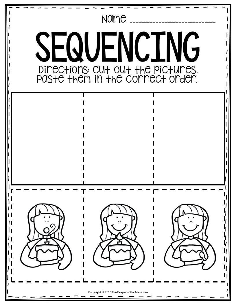 Sequencing events Worksheets Free Printable Sequence Of events Worksheets
