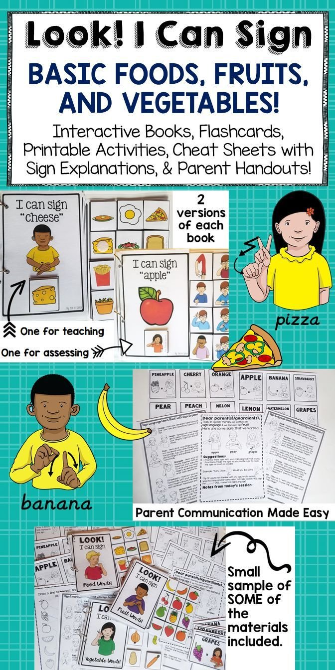 Sign Language Worksheets for Kids Sign Language Printables Flash Cards and Activities for