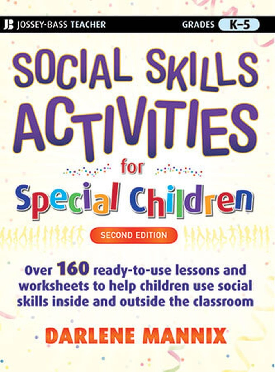 Social Skills Worksheets for Kindergarten social Skills Activities for Special Children