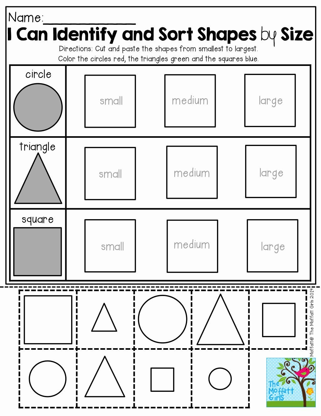 Sorting Shapes Worksheets Pin On Mayo