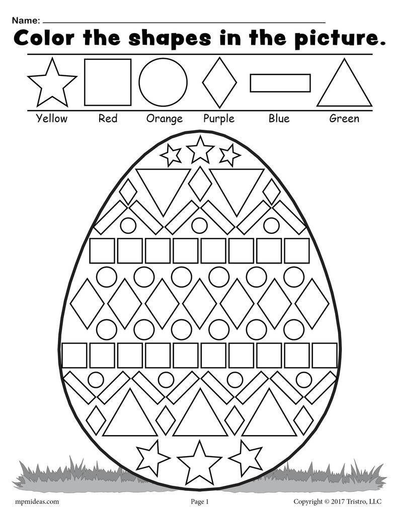 Sorting Shapes Worksheets Pin On Worksheet for Kindergarten Printable