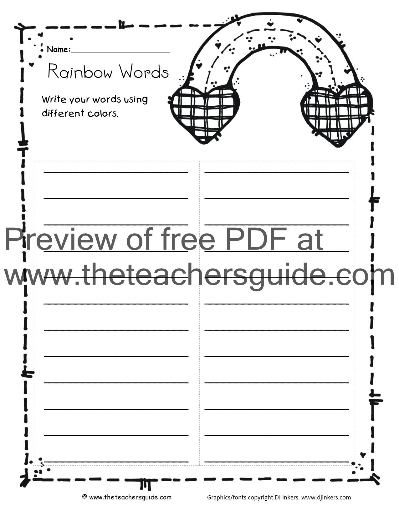Summary Worksheets 2nd Grade the Teacher S Guide Free Lesson Plans Printouts and