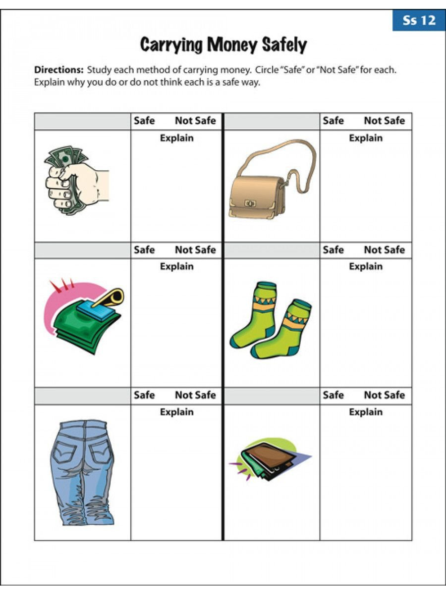 Teaching Independent Living Skills Worksheets Amusing Empowered by them Life Skills Worksheets to