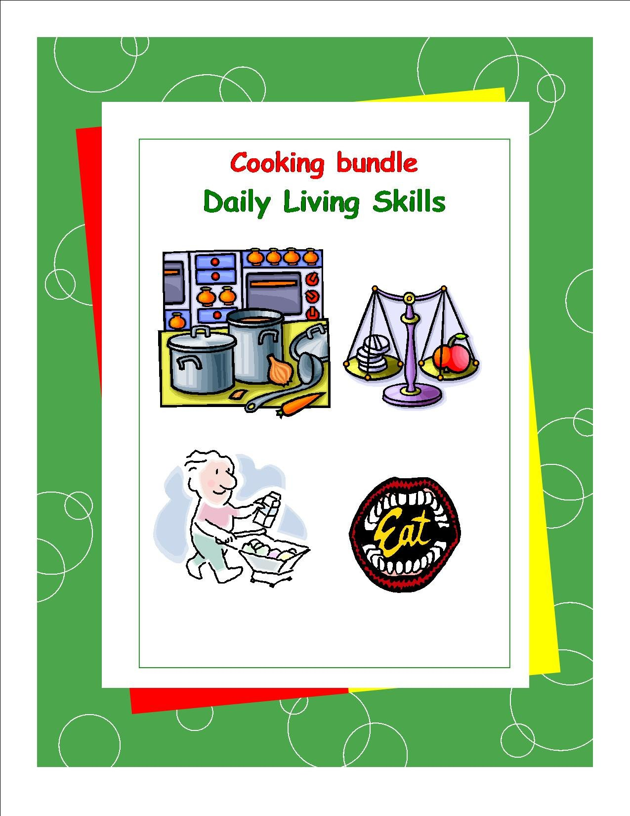 Teaching Independent Living Skills Worksheets Special Education X5 Worksheets Leave It to Me