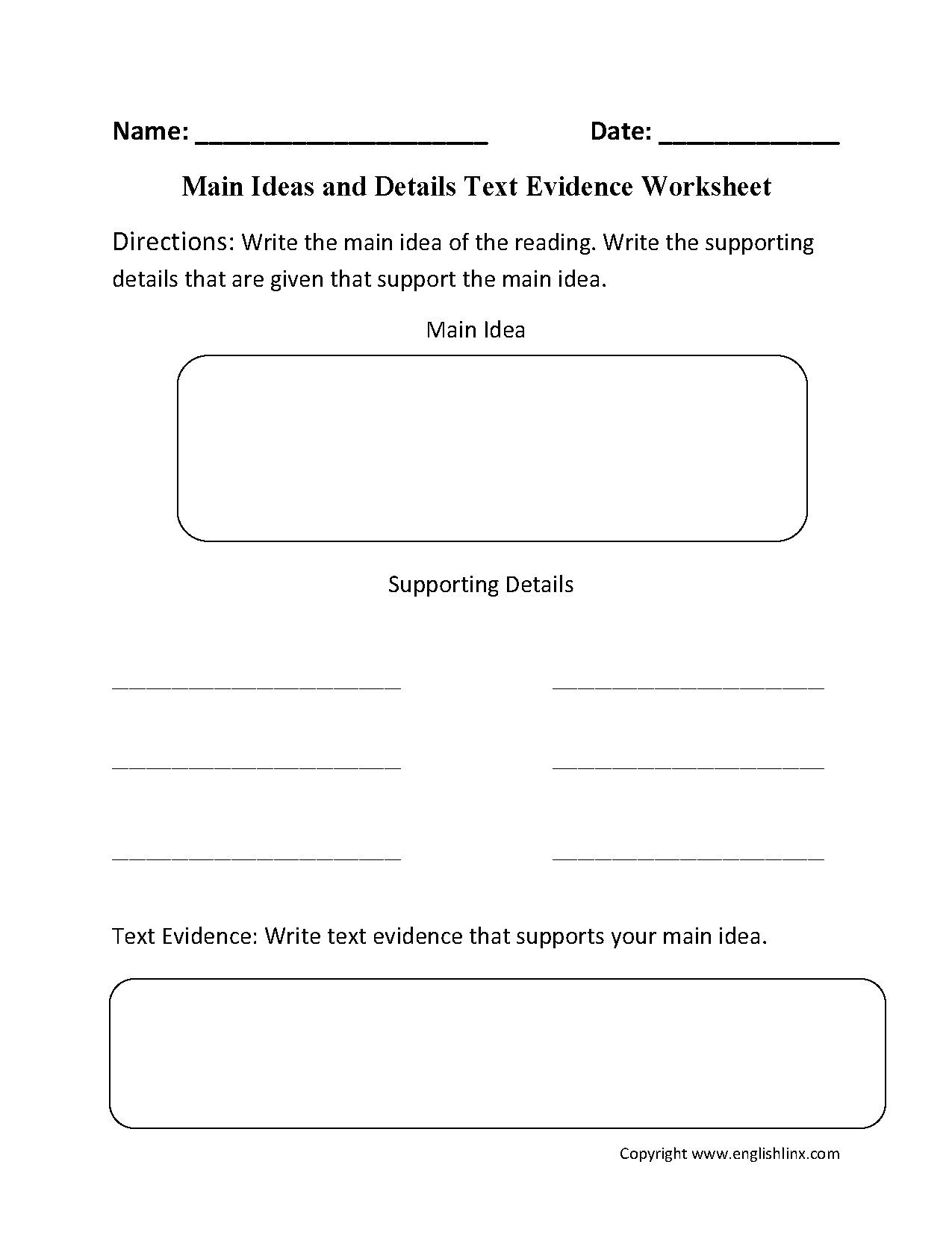 Text Evidence Worksheets 3rd Grade Cite Textual Evidence Worksheet