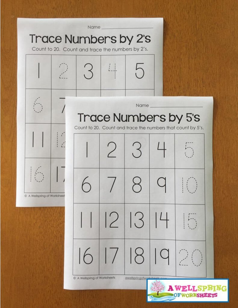 Tracing Numbers 1 20 Worksheets Tracing Numbers 1 20 Worksheets Blog Post